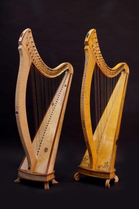 Isabelle de Spoelberch La harpe de Tara