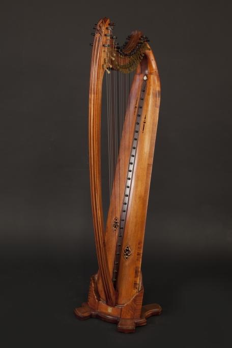 Isabelle de Spoelberch Harpe gothique