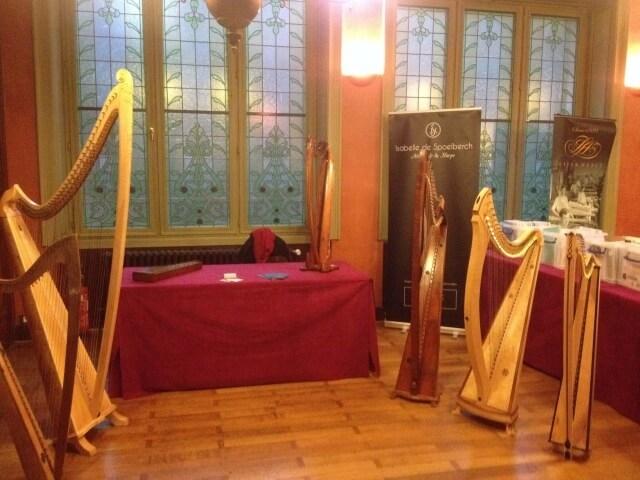 Isabelle de Spoelberch Brussels Harp Festival